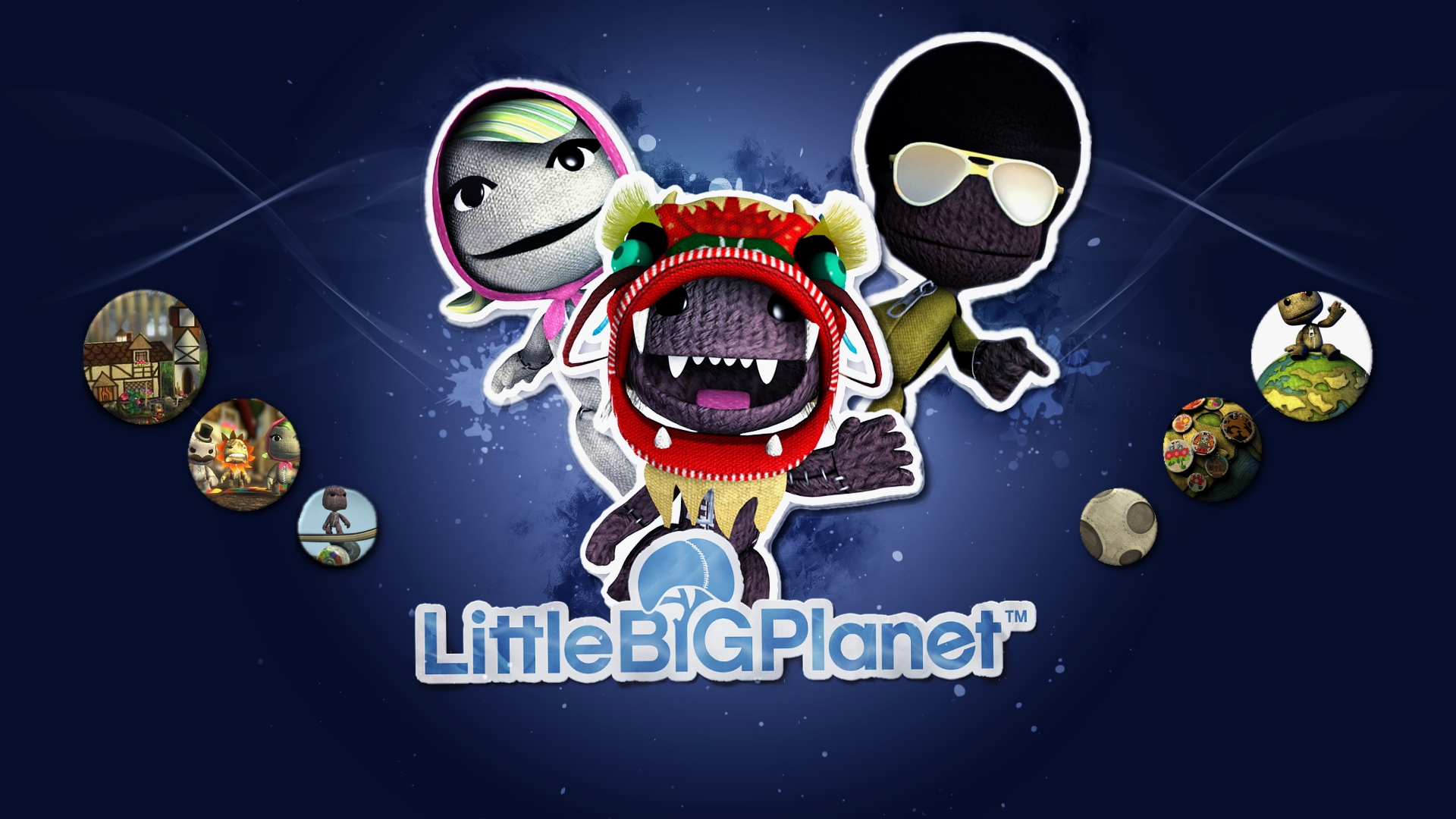 pin little big planet 2 wallpaper on pinterest